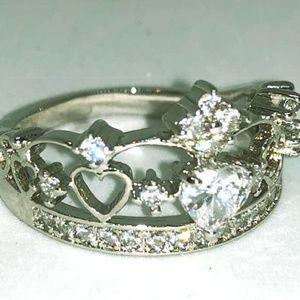 Fragrant Jewels Limited Crown Ring Size 9